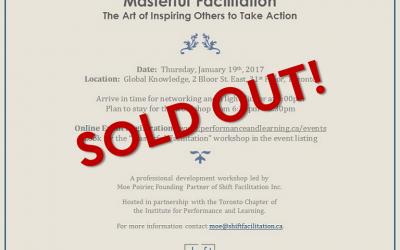 Workshop Event – Masterful Facilitation